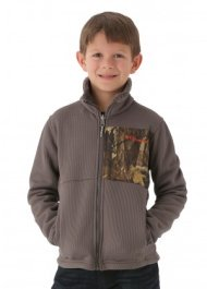Columbia Boys Snow Grid Full Zip (Mineshaft)