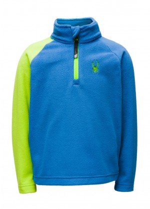Spyder Mini Speed Fleece Zip T-Neck - WinterKids.com