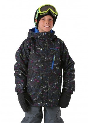 Columbia Boys Whirlibird Interchange 3-in-1 Jacket - WinterKids.com