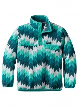 Patagona Girls Lightweight Synchilla Snap-T Pullover - WinterKids.com