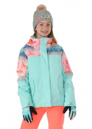 Roxy Girls Jetty Block Jacket - WinterKids.com