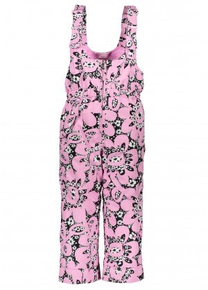 Obermeyer Toddler Girls Snoverall Print Pant - WinterKids.com