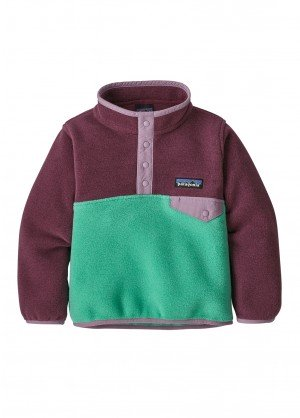 Patagonia Baby Lightweight Synchilla Snap-T Pullover - WinterKids.com