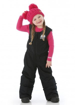 Zemu Youth Insulated Snow Everest Bib Pant - WinterKids.com