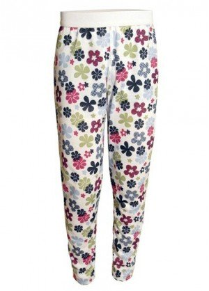 Hot Chillys Youth Pepper Skins Print Bottom (Flower Power)